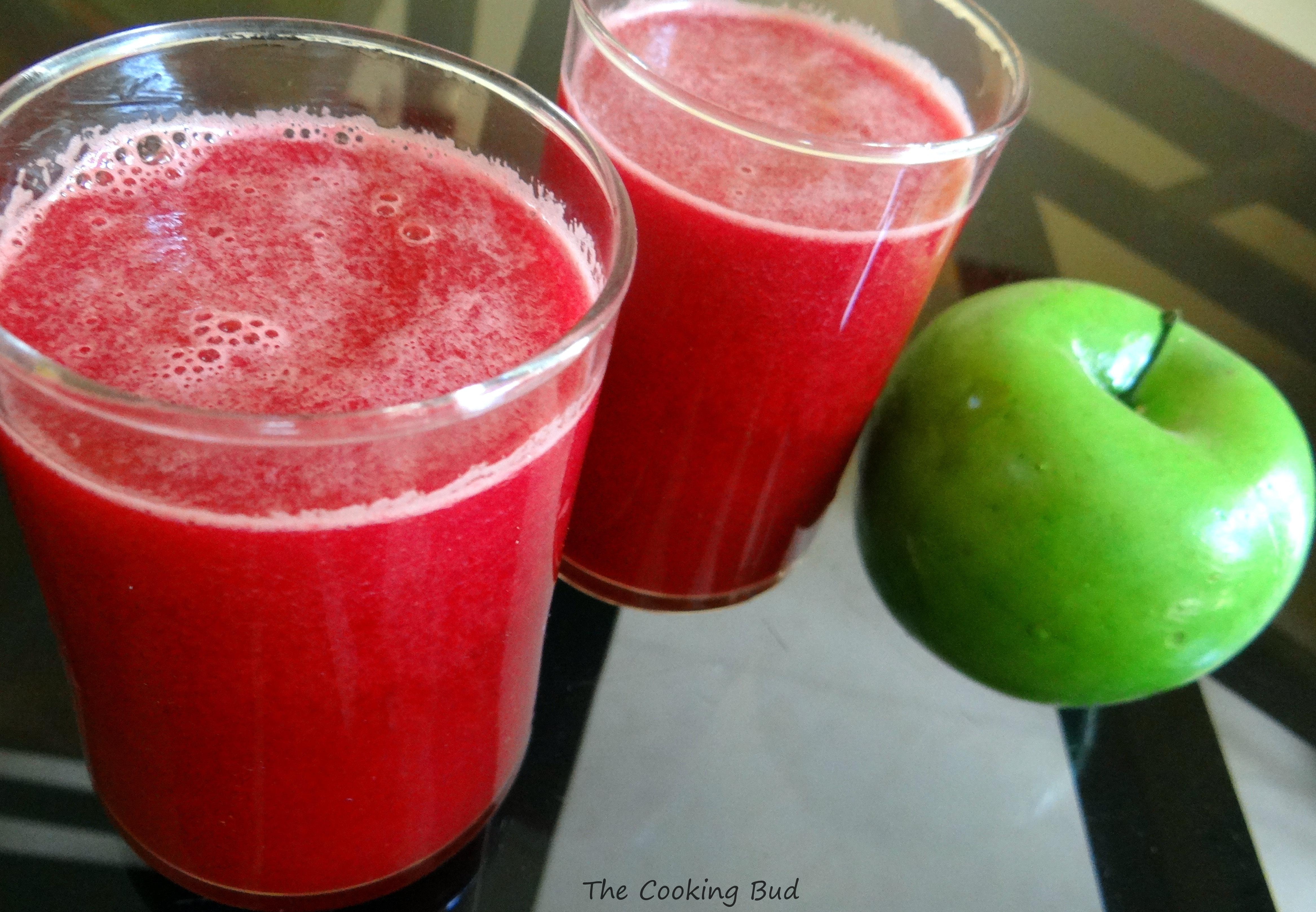 Apple-Beet-Carrot Juice – The Baking Bud